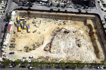 Beirut Bulldozers Tear Down Ancient Phoenician Port to Build Skyscrapers