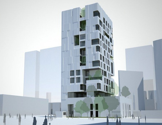 Agi residential wind tower wins best architecture multiple Wind architecture