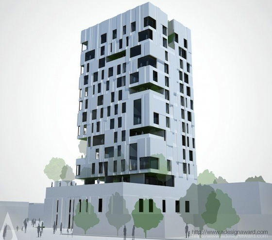 AGi Residential Wind Tower Wins Best Architecture Multiple ...