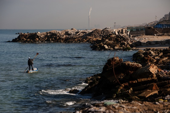 Gaza's Water Too Dangerous To Drink