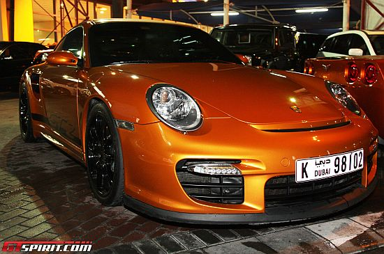 A Gold Porsche 997 GT2 – The Latest in Ungreen Super Luxury