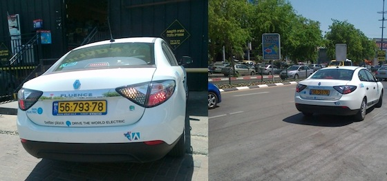 All Electric Renault Spotted in Netanya, Israel
