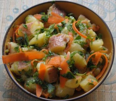 Potato Salad With Middle Eastern Flavors (RECIPE)