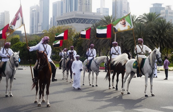 Dubai, horses, green transportation, urban, architecture, sustainable development
