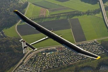 World's First Solar-Powered Transcontinental Flight in Pictures
