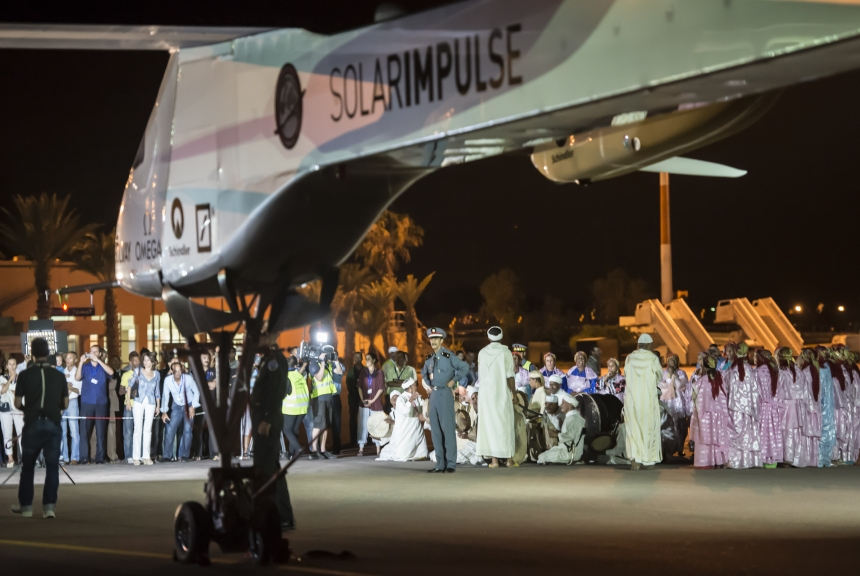 Solar Impulse Plane Finally Conquers the Atlas Mountains