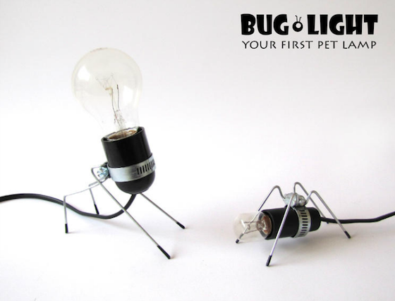 Bug Lights: Illuminating Desktop Pets by Omer Inbar