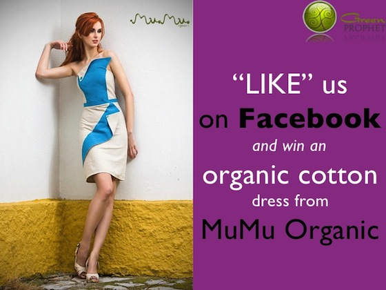 Don't Miss the Chance to Win an Organic Cotton Dress from MuMu Organic