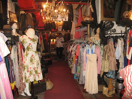 shop vintage clothes