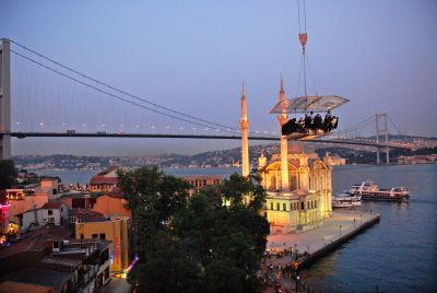 dinner in the sky istanbul