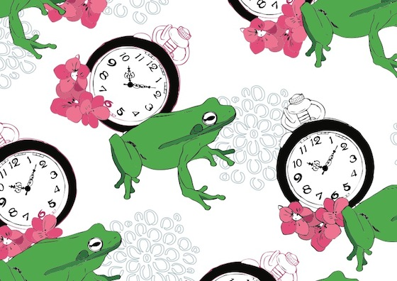 leap second clock frog