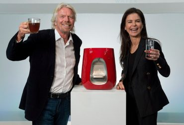 Richard Branson Makes Virgin Water Bar With Israel's Strauss