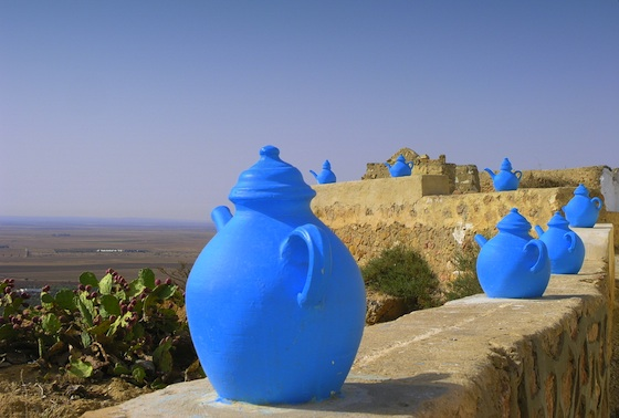 water, shortages, heatwave, Tunisia, blue pots, electricity,
