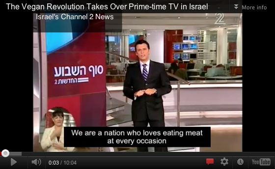 veganism, Israel, Channel 2 News, Gary Yourofsky, The Best Speech You Will Ever Hear,