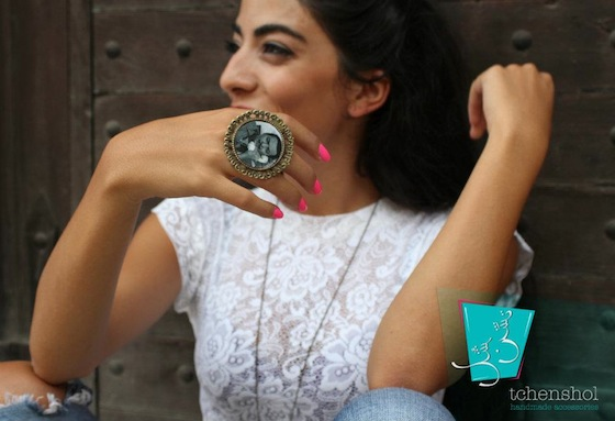 Tchensols LEGO and Pop Art Jewelry Shakes up Lebanese Fashionistas