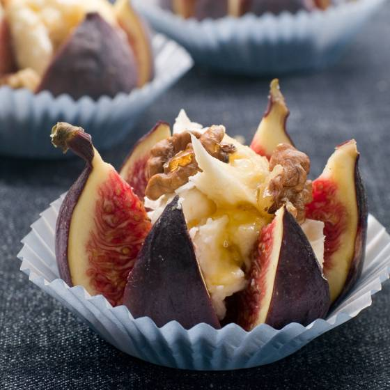 fresh figs recipe with cheese