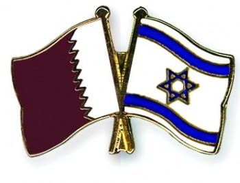 israel qatar flag pin flags climate change summit doha