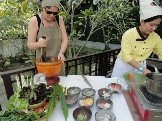 thai cooking class, The Kala, Koh Samui, Had Lamai, Lamai beach