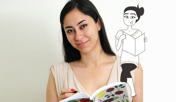 Lebanese illustartor and webcomic Maya Zankoul