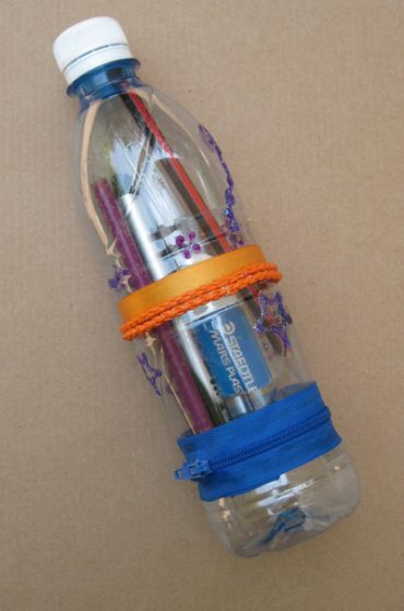 Turn Disposable Water Bottle into Pencil Case: Upcycling Tutorial