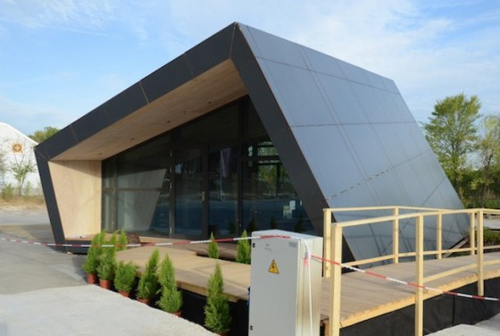 Green prophet highlights at the solar decathlon in madrid for Solar energy house designs