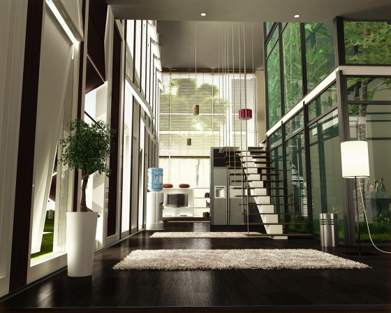 green design, Oxygen Villa, prefabricated house, eco-design, House, Egypt, mashrabiya