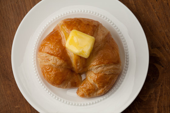 butter croissant fat weight hebrew university