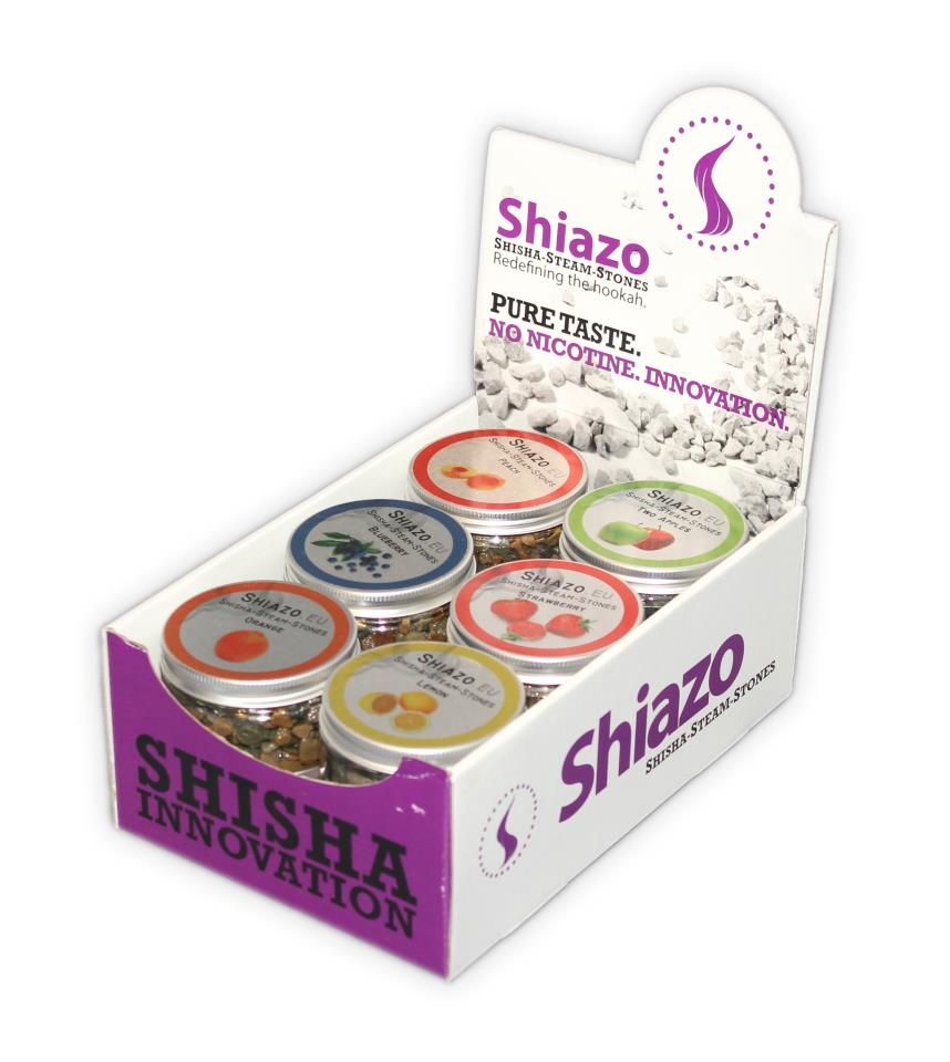 Shiazo's Burn and Stink-free Hookah Hits the Streets