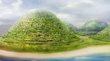 HavvAda Artificial Island Made from Giant Globs of Dirt From Istanbul Canal