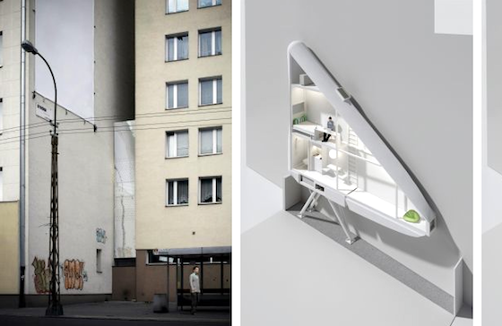 Keret House: The World's Thinnest, Most Insane House is Now Open