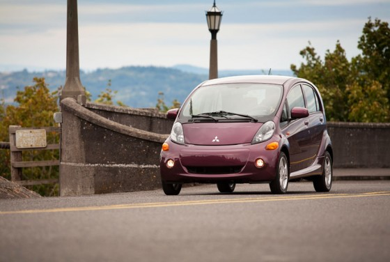 Mitsubishi's iMiEV electric: a more reasonable buy at $21,625