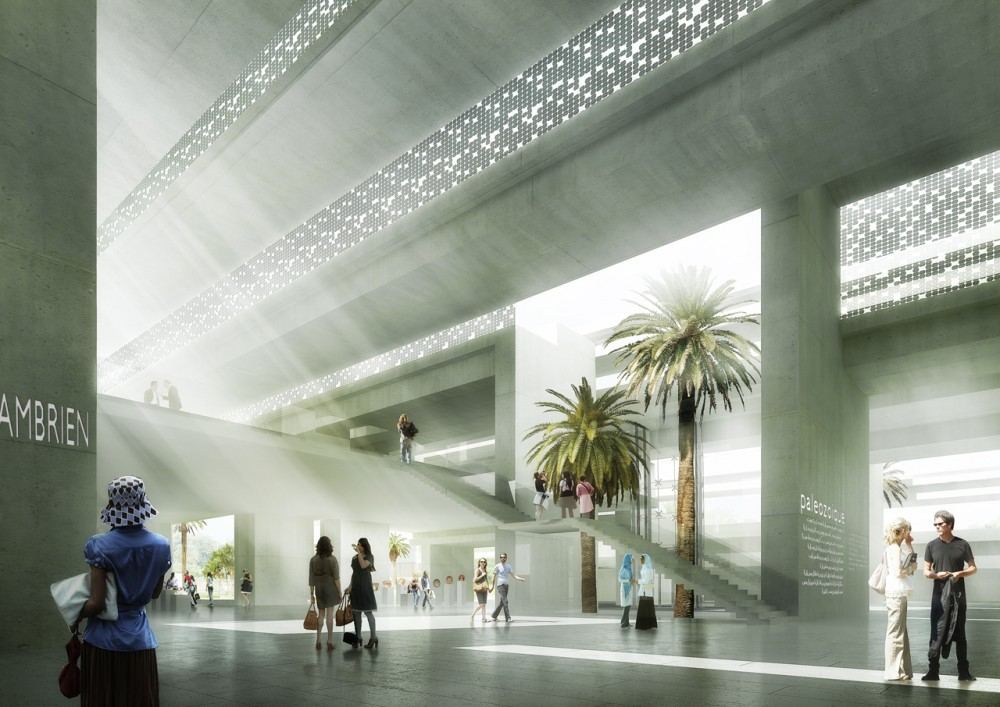 Archi5′s Solar-Powered Archaeology Museum for Morocco