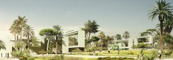 green design, solar power, Morocco, rainwater harvesting, museum, archaeology, Rabat, Archi5