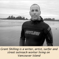 Grant Shilling  surfing with the devil, surfing for peace