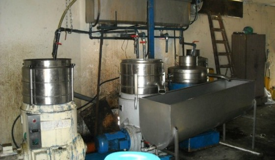green waste refinery water treatment for olive oil press, boutique wineries