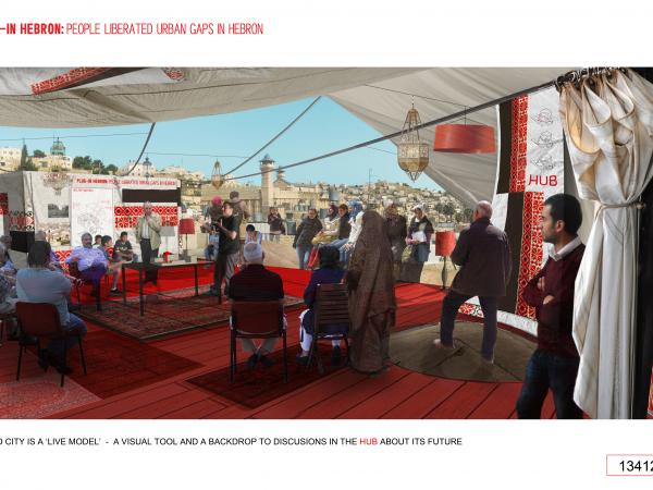 PLUG-In Hebron: A Solar-Powered Civic Hub for Urban Renewal