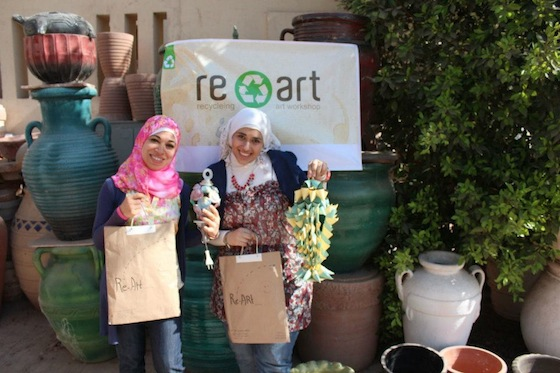 Recycle Art Workshops @Darb 1718 This October