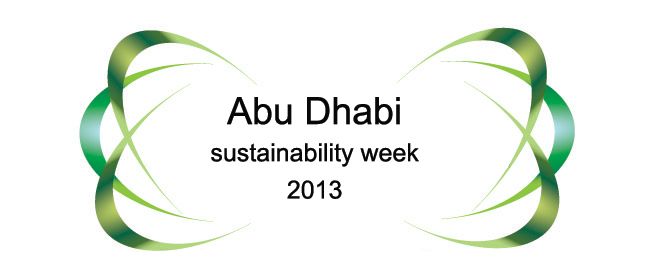 Welcome 2013 at Abu Dhabi Sustainability Week