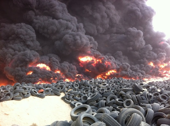 Tire Landfill Fire | 2018, 2019, 2020 Ford Cars