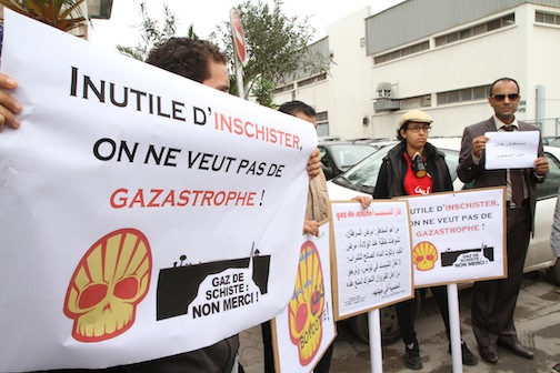 Angry Tunisians Protest Shell's Shale Plans