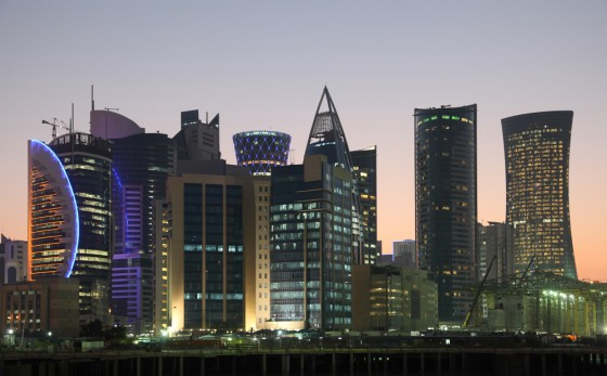 qatar city skyline