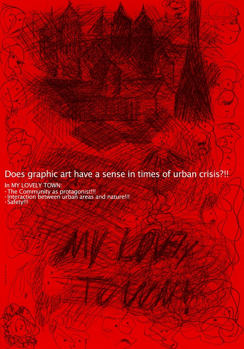 iran graphic design climate change abd ali my lovely town