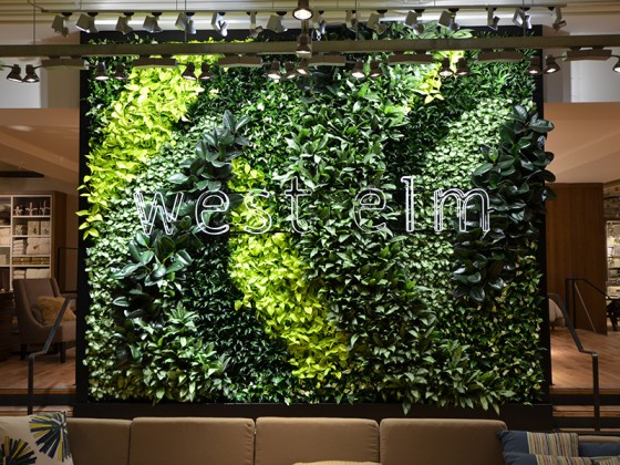 Green Wall, Living Wall, Vertical Garden, GSky, Kuwait, West Elm, Versa Wall