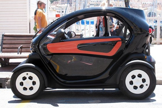 EV, car sharing program, Tel Aviv, Renault Twizy, Israel, electric vehicles, urban, eco-transportation