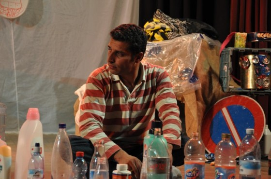 YTheater, Take-Away, Kickstarter, Crowdfunding, eco-theater, trash, waste management, art, culture, Israelis, Palestinians, Jerusalem