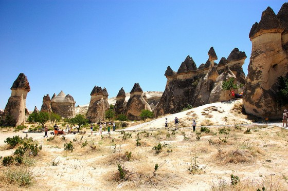 cappadocia fairy chimneys in Turkey star wars under threat