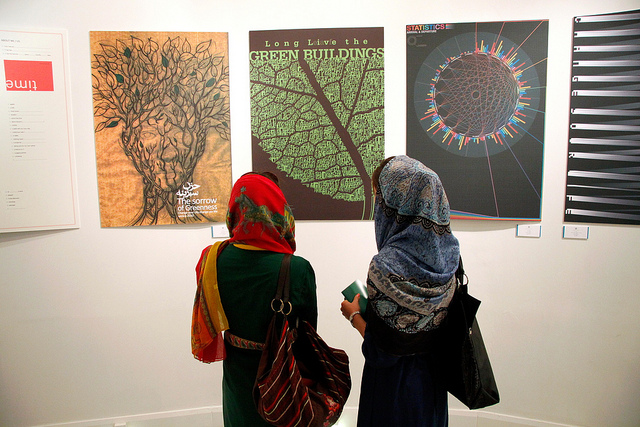 Iranian Graphic Designers Fight Pollution and Climate Change