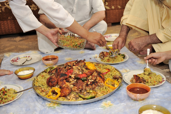 Eat Like A Sustainable Saudi Arabian Chicken And Rice Kabsa Recipe Green Prophet