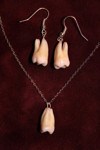fetish jewelry teeth