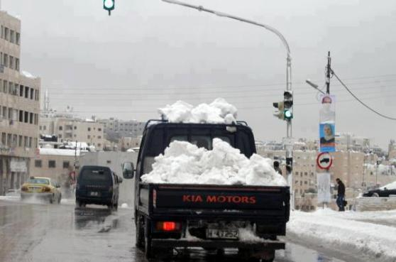 Sever weather in Middle East